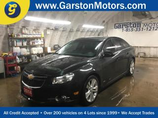 Used 2014 Chevrolet Cruze 2LT*RS*LEATHER*POWER SUNROOF*BACK UP CAMERA*POWER DRIVER SEAT*HEATED FRONT SEATS*MY LINK PHONE CONNECT*KEYLESS ENTRY w/REMOTE START*ALLOYS*FOG LIGHTS* for sale in Cambridge, ON
