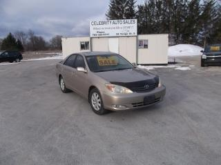 Used 2004 Toyota Camry XLE for sale in Elmvale, ON