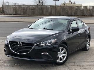 Used 2016 Mazda MAZDA3 GX *BACK UP CAM* FINANCING AVAILABLE! for sale in Mississauga, ON