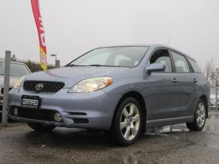 Used 2004 Toyota Matrix XR / ONE OWNER / ACCIDENT FREE for sale in Newmarket, ON