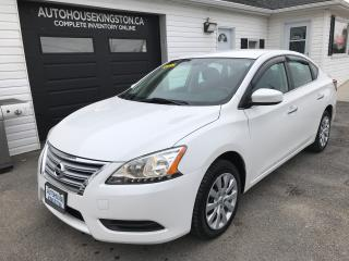 Used 2014 Nissan Sentra SV for sale in Kingston, ON