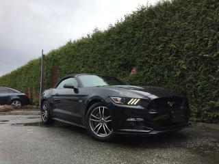 Used 2017 Ford Mustang GT PREMIUM + NAV + HEATED/VENT/POWER SEATS + BLIS + BACK-UP CAM + RR PARK ASSIST for sale in Surrey, BC