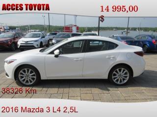 Used 2016 Mazda MAZDA3 Cuir for sale in Rouyn-Noranda, QC