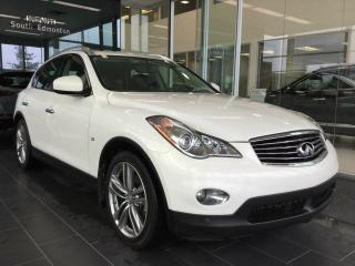 Used 2014 Infiniti QX50 TECHNOLOGY PACKAGE, NAVI, AWD for sale in Edmonton, AB