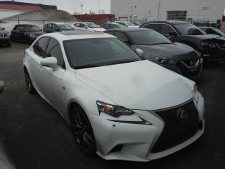 Used 2015 Lexus IS 350 F SPORT 3 GROUPE EXÉCUTIF *TOIT-GPS-CUIR for sale in Levis, QC