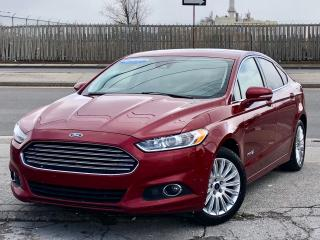 Used 2014 Ford Fusion SE Hybrid LEATHER,BACK UP CAM *ACCIDENT FREE* for sale in Mississauga, ON