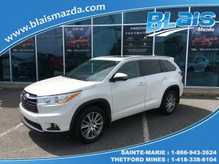 Used 2015 Toyota Highlander Traction intégrale  XLE for sale in Ste-Marie, QC