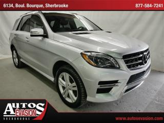 Used 2015 Mercedes-Benz ML-Class ML350 BLUETEC AWD for sale in Sherbrooke, QC