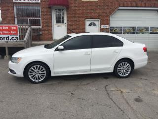 Used 2011 Volkswagen Jetta Sportline Leather Sunroof, 5 spd manual for sale in Bowmanville, ON