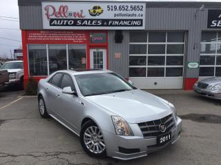 Used 2011 Cadillac CTS LEATHER+PANO ROOF for sale in London, ON