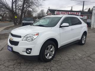 Used 2012 Chevrolet Equinox Clean Carproof/Backup Cam/Remote Starter/Certified for sale in Scarborough, ON