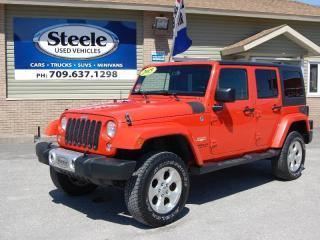 Used 2015 Jeep Wrangler Sahara for sale in Corner Brook, NL