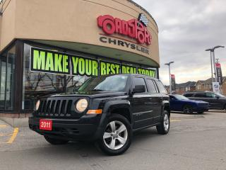 Used 2011 Jeep Patriot NORTH 4X4 H-TED SEATS ALLOYS 2 YR MAINTENANCE PLAN for sale in Scarborough, ON