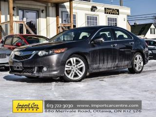 Used 2010 Acura TSX V6 ONLY 94KKMS LEATHER SUNROOF POWER SEATS for sale in Ottawa, ON