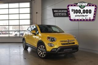 Used 2017 Fiat 500X Trekking - Remote Start, Sunroof, Bluetooth, Back for sale in London, ON