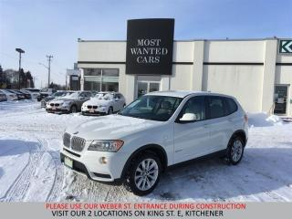 Used 2014 BMW X3 xDrive 35i V6 | NAVIGATION | HEATED STEERING for sale in Kitchener, ON