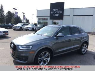 Used 2015 Audi Q3 Technik | NAVIGATION | BLIND | CAMERA | PANO ROOF for sale in Kitchener, ON