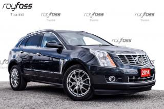 Used 2014 Cadillac SRX Premium Nav Driver Aware Pkg 20whls for sale in Thornhill, ON