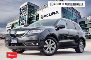 Used 2016 Acura MDX Elite Accident Free| DVD| 360 Camera| for sale in Thornhill, ON