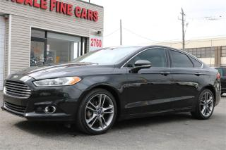 Used 2015 Ford Fusion Titanium. AWD. Navi. Leather. Roof for sale in North York, ON