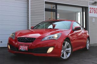 Used 2011 Hyundai Genesis Coupe 2.0T GT. Rare 6Spd. Leather. Roof. Clean for sale in North York, ON