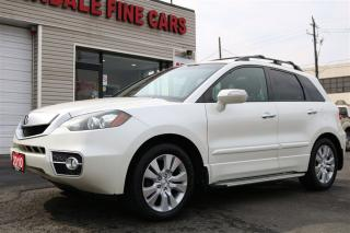 Used 2010 Acura RDX Tech Pkg. Leather. Navi. Camera. Extra Clean for sale in North York, ON