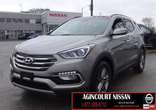 Used 2017 Hyundai Santa Fe Sport 2.4 SE 2.4 SE AW|BLIND SPOT|LEATHER SEATS|HTD STEE for sale in Scarborough, ON