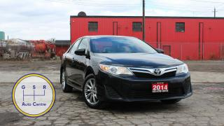 Used 2014 Toyota Camry LE UPGRADE | BLUETOOTH | TOUCHSCREEN | LOW KM | EVERYONE GETS FINANCED! for sale in Hamilton, ON