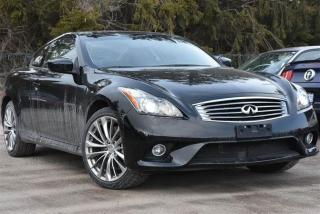 Used 2014 Infiniti Q60 Coupe Premium Sport AWD for sale in Pickering, ON