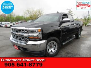 Used 2016 Chevrolet Silverado 1500 LS  4X4 DOUBLECAB 5.3L CHROME PACKAGE POWER GROUP TOW for sale in St Catharines, ON
