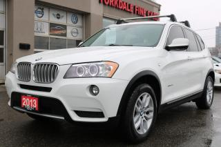 Used 2013 BMW X3 xDrive28i Excutive Pkg. Navi. Camera. Leather. Roof for sale in North York, ON