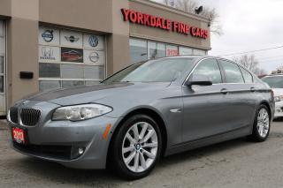 Used 2013 BMW 528 i xDrive Excutive Pkg. Navigation. 360 Camera for sale in North York, ON