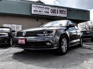 Used 2015 Volkswagen Jetta 2.0 TDI Trendline+ TDI DIESEL!! HEATED SEATS!! BLUETOOTH AND MORE!!! for sale in Bolton, ON