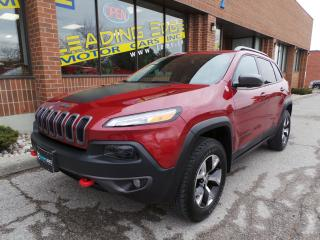 Used 2016 Jeep Cherokee Trailhawk Remote Start, Panoramic Sunroof, Leather for sale in Woodbridge, ON