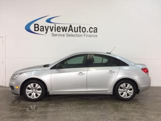 Used 2016 Chevrolet Cruze 2LS - KEYLESS ENTRY! A/C! ON STAR! CRUISE! PWR GROUP! for sale in Belleville, ON