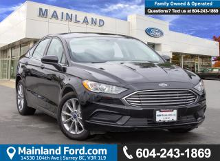 Used 2017 Ford Fusion SE BC LOCAL, ACCIDENT FREE for sale in Surrey, BC