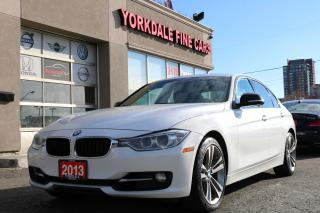 Used 2013 BMW 328 i xDrive Sport Line. Navigation. White On Red. Clean for sale in North York, ON