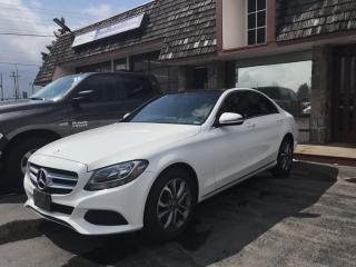Used 2017 Mercedes-Benz C-Class LOADED - Panoramic moonroof and  AWD for sale in Brantford, ON