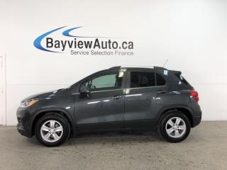 Used 2017 Chevrolet Trax LT - REM START! REV CAM! APPLE CARPLAY! ANDROID AUTO! for sale in Belleville, ON