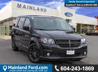 Used 2017 Dodge Grand Caravan GT ***ACCIDENT FREE*** for sale in Surrey, BC