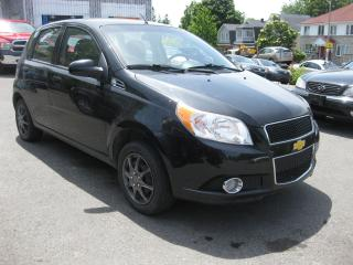 Used 2011 Chevrolet Aveo LT FWD 4cyl Manual Hatchback Low KM Great on Gas for sale in Ottawa, ON