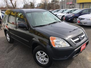 Used 2002 Honda CR-V EX/AUTO/4WD/ALLOYS/LOADED! for sale in Scarborough, ON