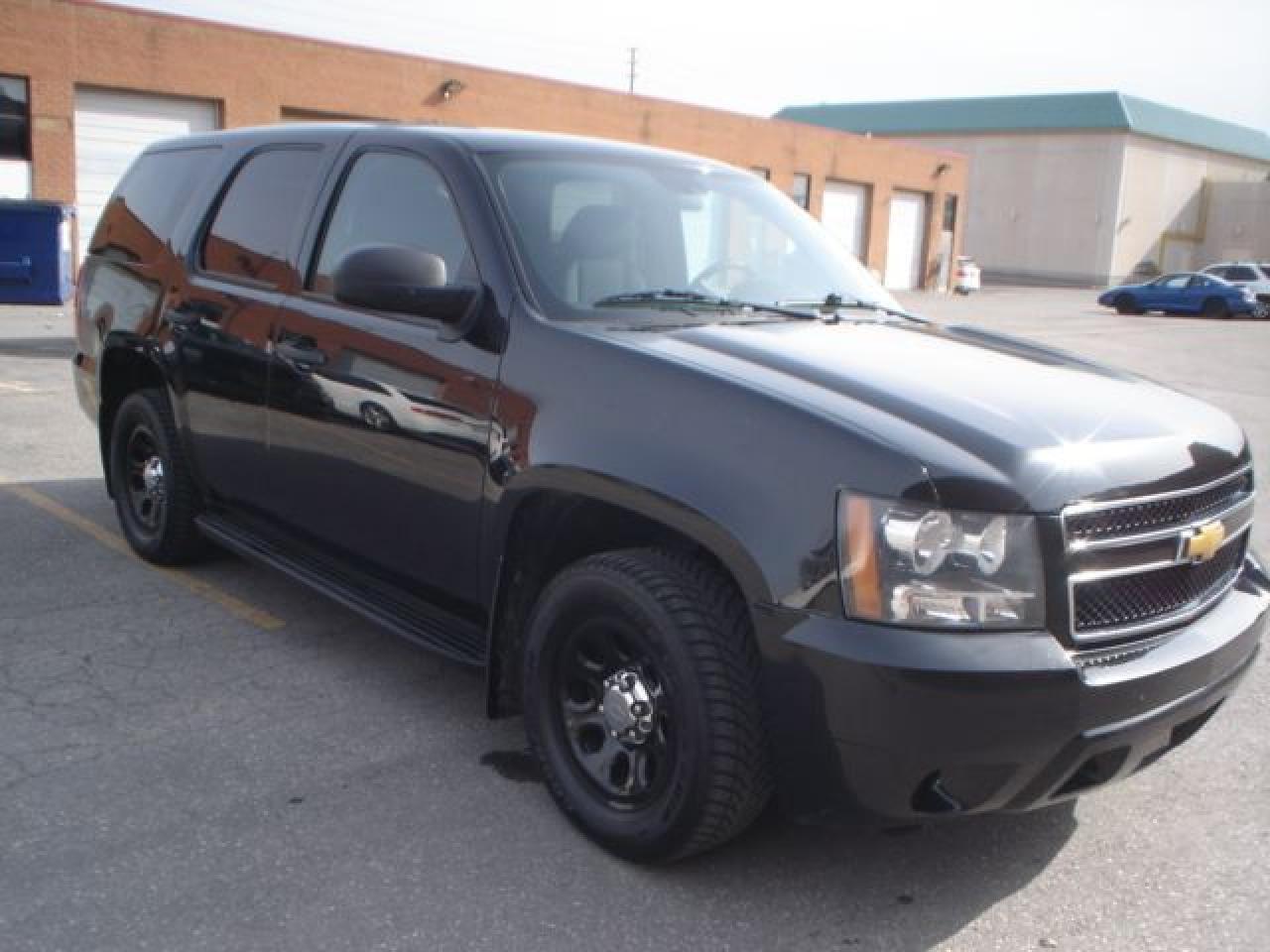 2014 Chevrolet Tahoe blk/blk ex police