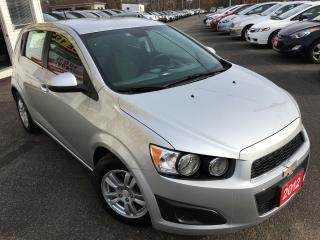 Used 2012 Chevrolet Sonic LT/AUTO/BLUETOOTH+AUX/ALLOYS/FUEL EFFICIENT!! for sale in Scarborough, ON