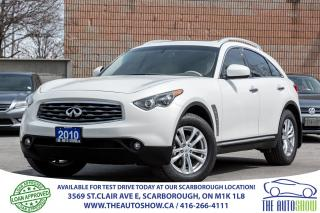 Used 2010 Infiniti FX35 Sunroof RearviewCam Bluetooth for sale in Caledon, ON