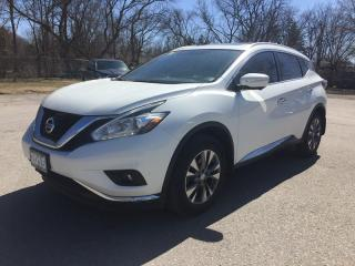 Used 2015 Nissan MURANO SL * AWD * LEATHER * NAV * REAR CAM * PANO ROOF * LOW KM for sale in London, ON
