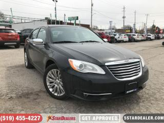 Used 2013 Chrysler 200 Limited | LEATHER | ROOF | HEATED SEATS for sale in London, ON