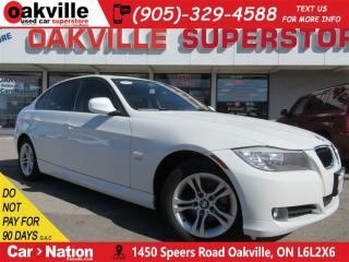 Used 2011 BMW 328 xDrive | HEATED SEATS | SUNROOF | BT | LOW KMS for sale in Oakville, ON