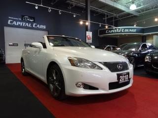 Used 2010 Lexus IS 250 C NAVIGATION / BACK UP CAMERA / 6 SPEED MANUAL for sale in North York, ON