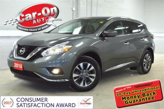 Used 2016 Nissan Murano SL AWD LEATHER NAV PANO ROOF LOADED for sale in Ottawa, ON